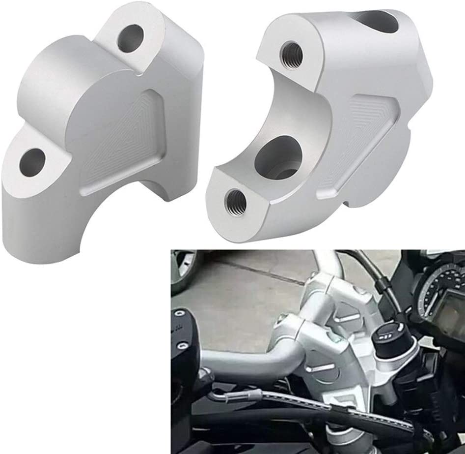 Yuanmei Motorcycle Handle Bar Clamp Raised Extend Handlebar Mount Riser Fit For BMW R1250GS R 1250 GS 1G13 K50 2018 2019