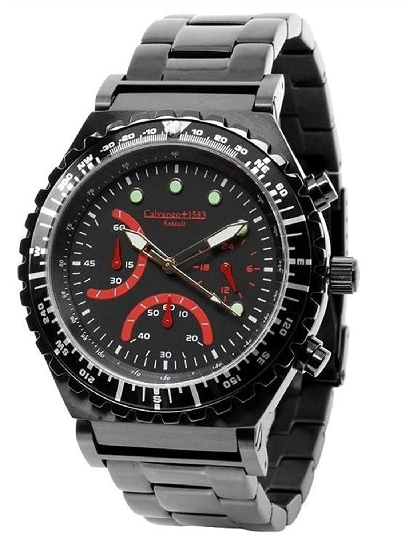 Calvaneo 1583   -Armbanduhr     Edelstahl beschichtet CM-ASS-09