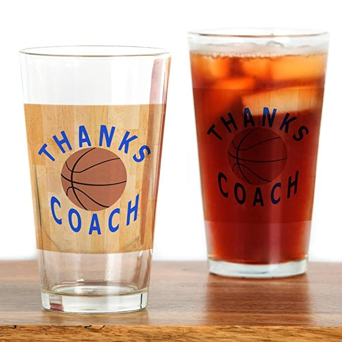 CafePress - gracias entrenador de baloncesto regalo Mag - Vaso, 16 ...