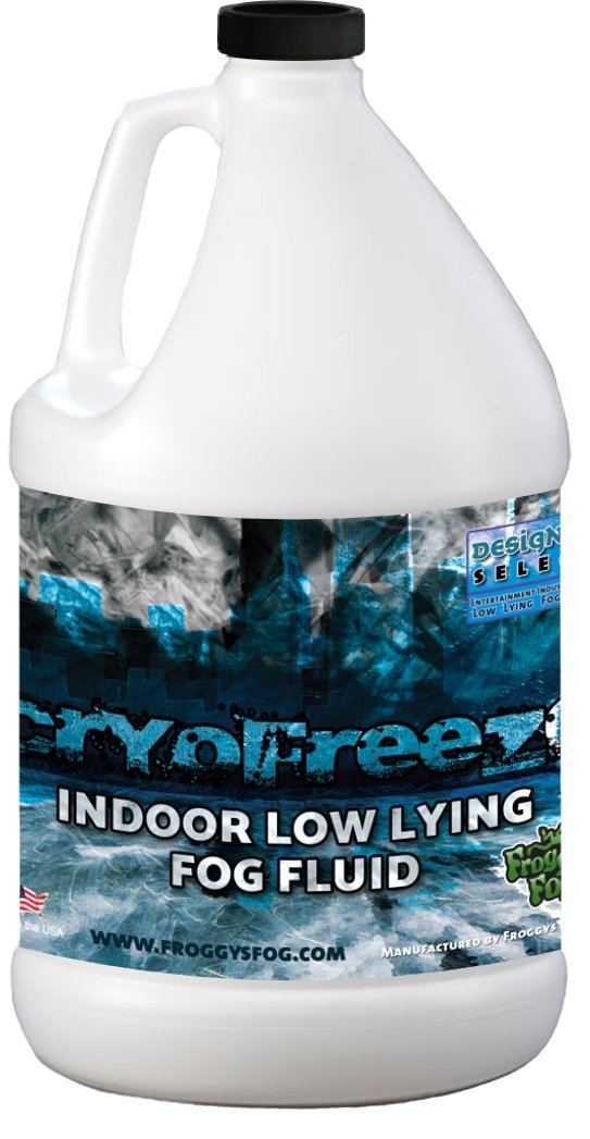 1 Gal - Cryofreeze - Designer Select Stage Low Lying Fog Machine Fluid Froggys Fog DS-CF