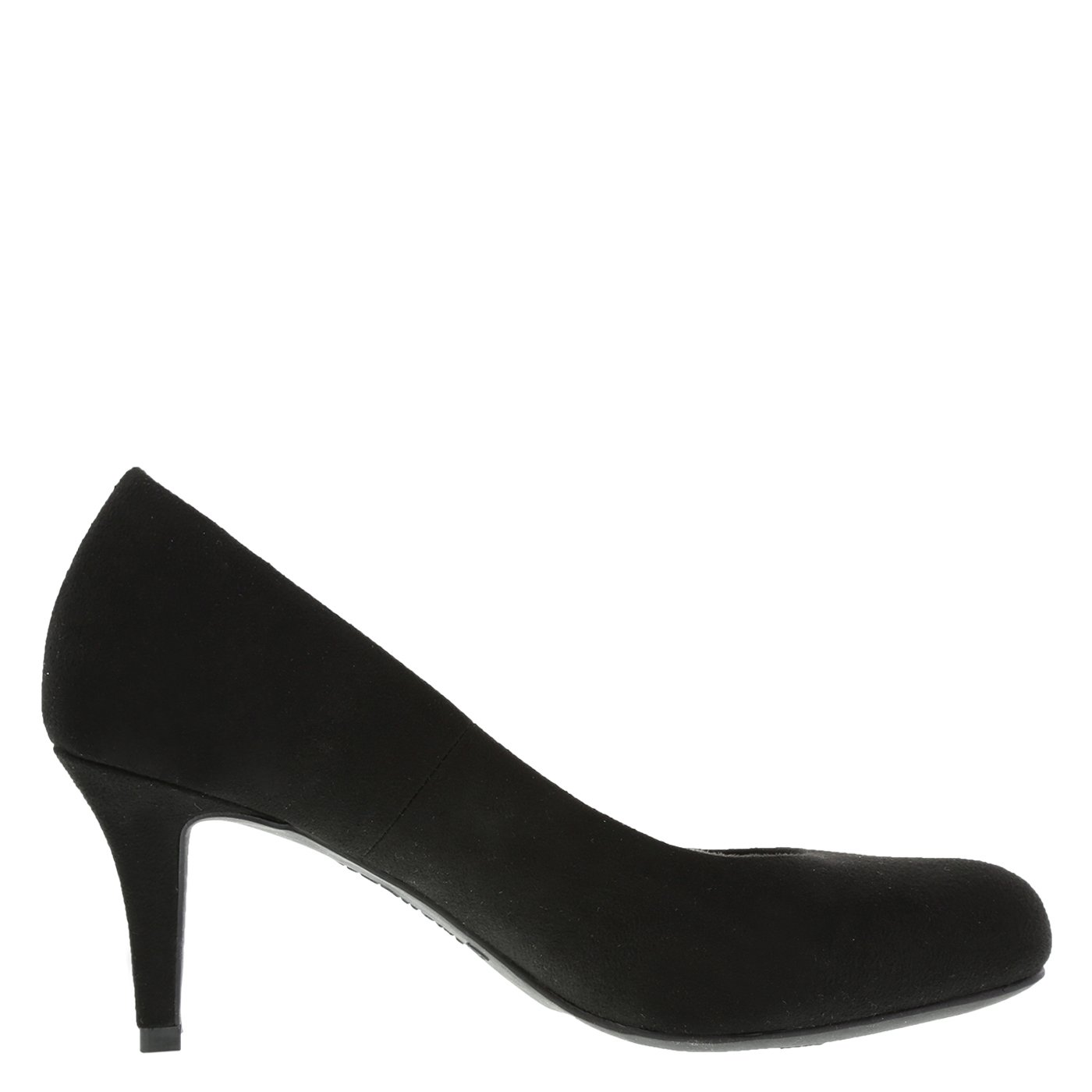 Comfort Plus by Predictions Womens Black Suede Womens Karmen Pump 13 Wide: Amazon.co.uk: Shoes & Bags