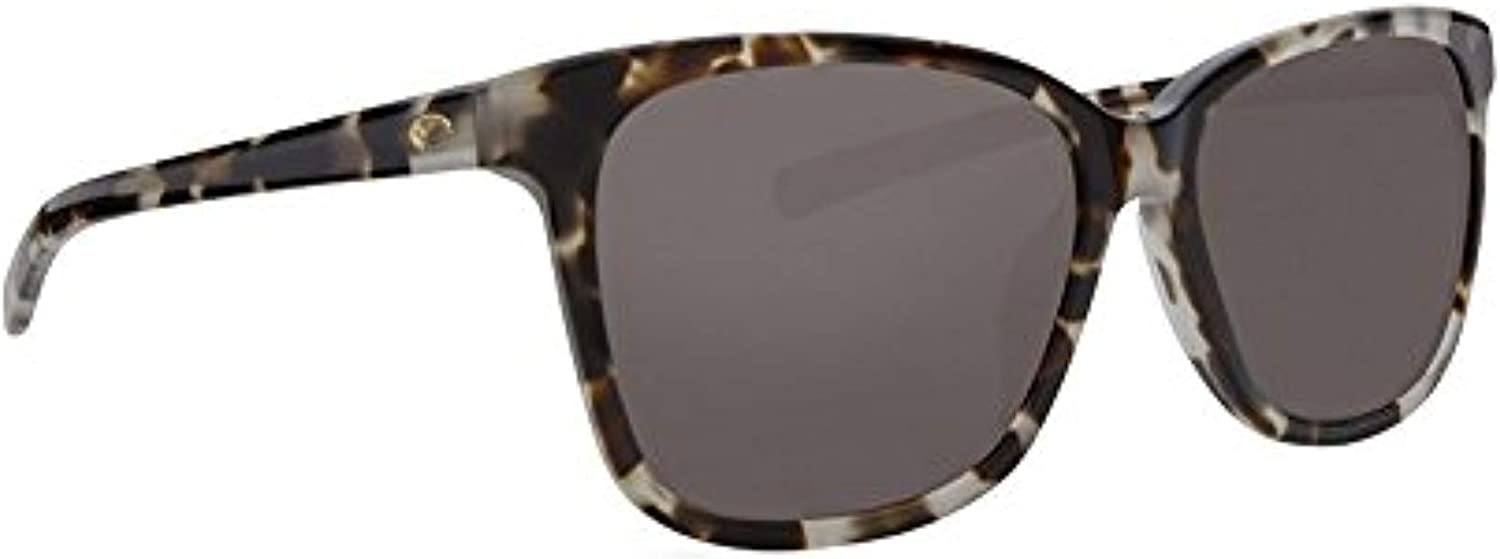 Costa Del Mar May Sunglasses MAY-210-OGGLP Tiger CowrieGrey 580G Polarized