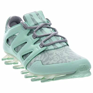 lowest price 3eb42 5ae6a adidas Springblade Pro Womens Running-Shoes Q16424 10 - Frozen Green Grey