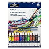 Royal & Langnickel Acrylic Artist Pack, 9-Inch by 12-Inch