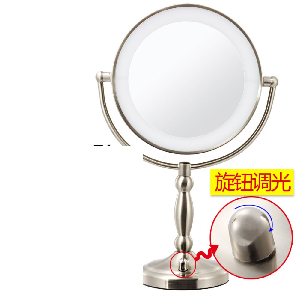 85%OFF 9InchLEDcosmetic mirror/ lighted mirror/Large double sided Desktop mirror/ wedding beauty mirror mirror-A
