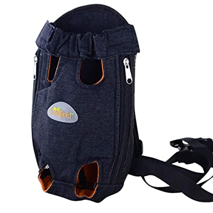 b3046089b2ba Amazon.com : AKwell Legs Out Front Pet Dog Carrier Front Chest ...