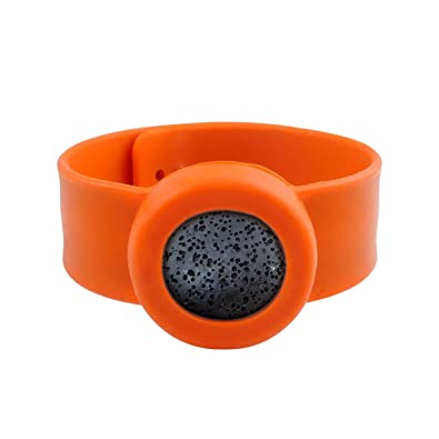 Bangles Smile Essential Oil Diffuser Kids Natural Lava Mosquito Repellent Bracelet Free Pads Women/ Men Silicone Bracelets