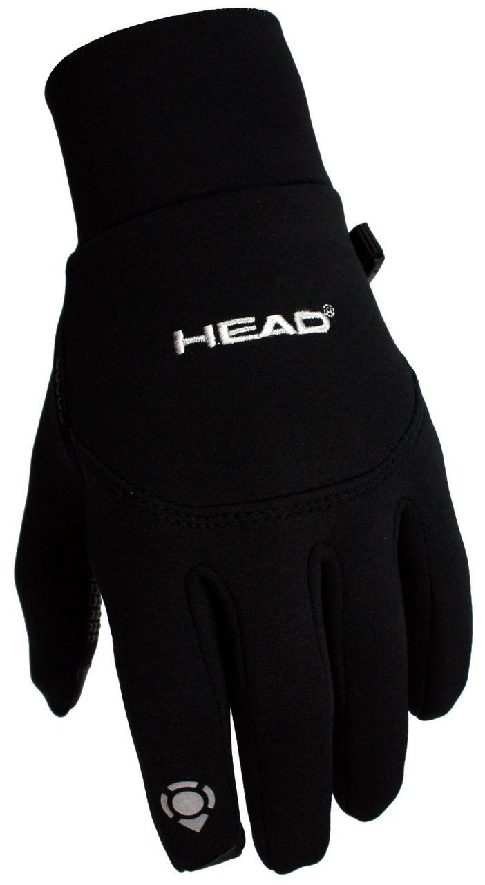 Head Multi-Sport Running Gloves with SensaTEC-Black (X-Small)