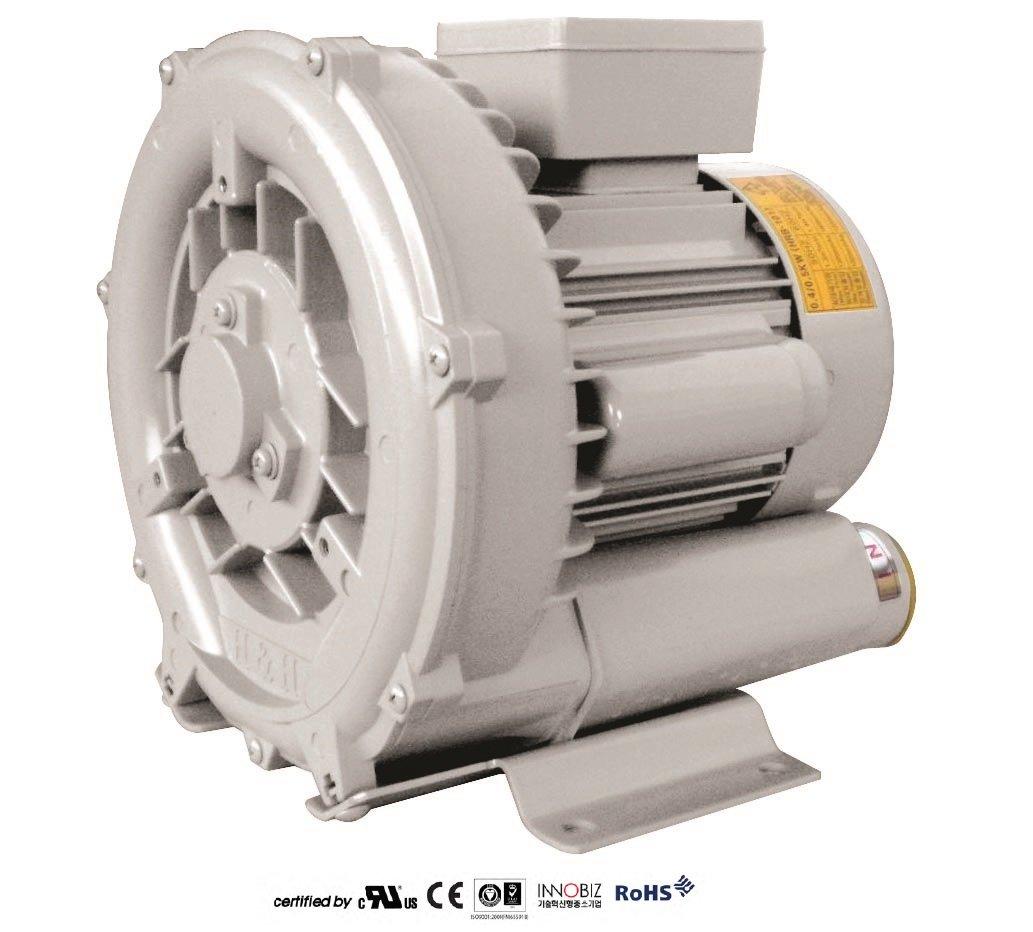 Pacific Regenerative Blower PB-101 (HRB-101), Ring, Side channel, Vacuum Pressure Blowers