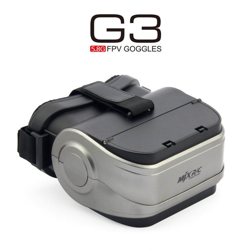 MJX G3 5.8G FPV VR Goggles for D43 5.8G FPV Receiver Monitor Display Screen