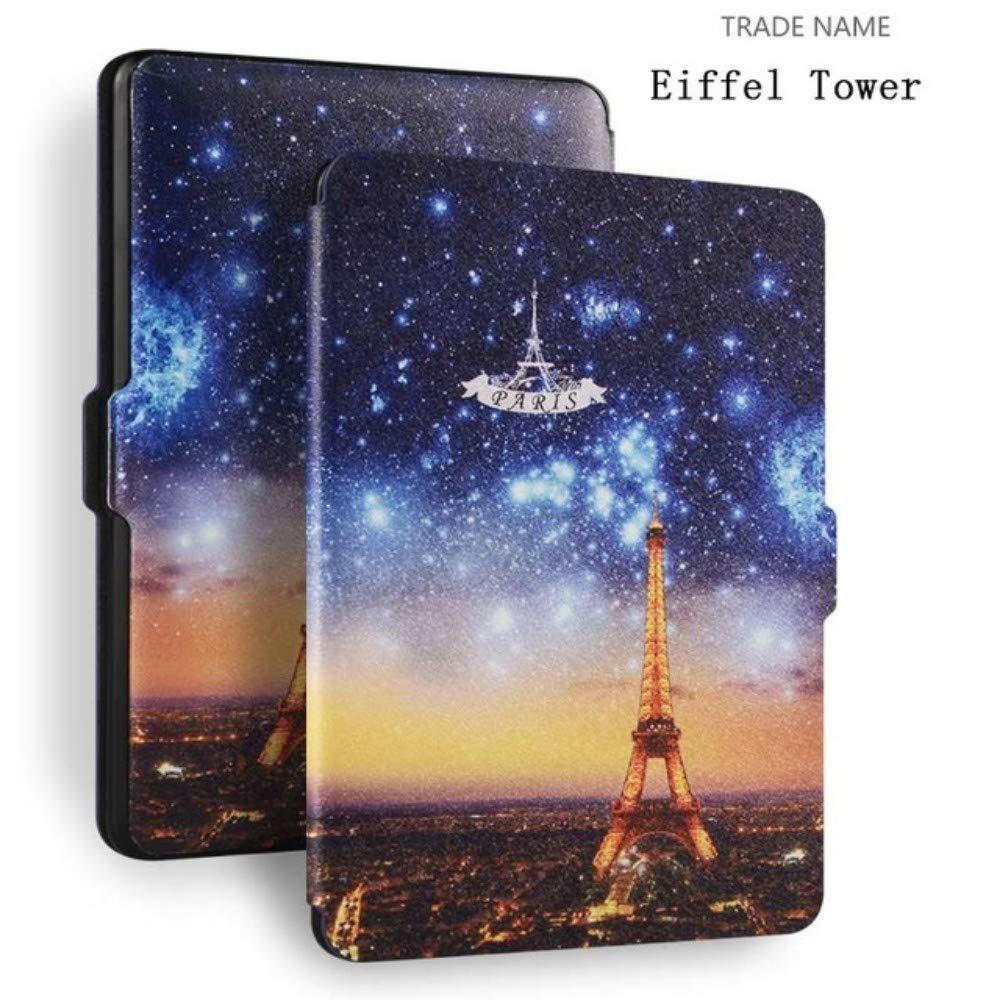 WENYYBF Kindle Case Kindle Caso Ultra Slim Leathermagnetcase Smart Cover per  Kindle 4 Paperwhite 2019 Pelle Pu Esterna Protegge con Stile
