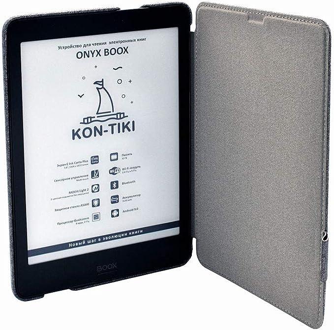 "Amazon.com: Onyx Boox KON-Tiki Black eReader + Case, 3+32Gb, E Ink Carta Plus, 7.8"" Touch, Moon Light 2"