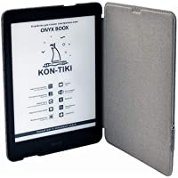 "Onyx Boox KON-Tiki Black eReader + Case, 3+32Gb, E Ink Carta Plus, 7.8"" Touch, Moon Light 2"