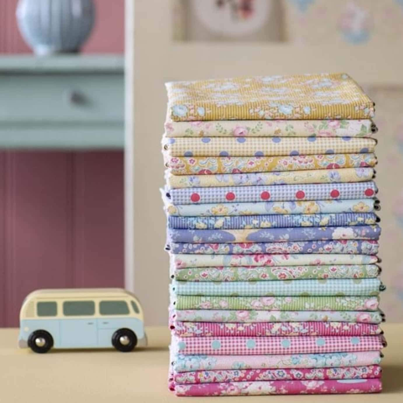 Tilda Fabrics Apple Butter Collection Fat EIGHTHS Bundle 20 Pieces of 20 x 10.8 100/% Cotton Quilting Fabric