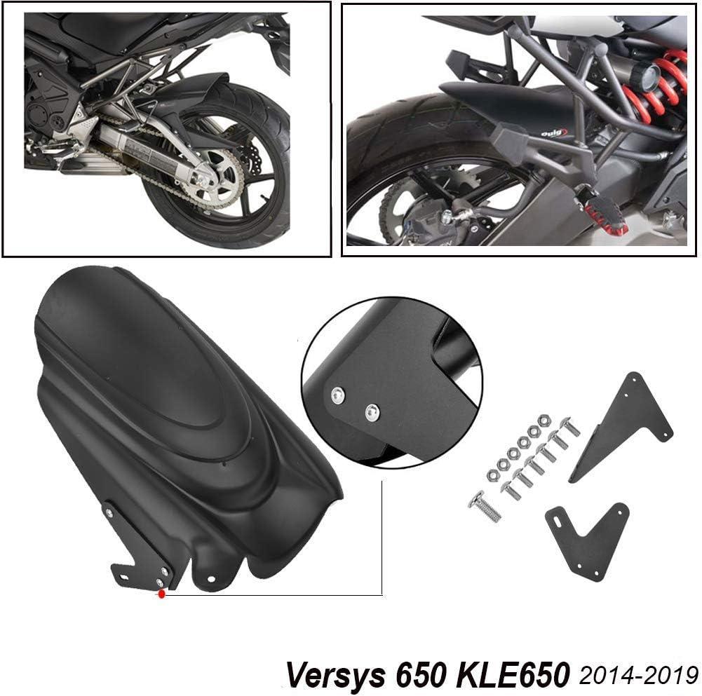 Fanuse Kit de Cubierta de Protecci/óN de Guardabarros Trasero de Motocicleta para Versys 650 KLE650 2014-2019 Protector contra Salpicaduras de Neum/áTicos