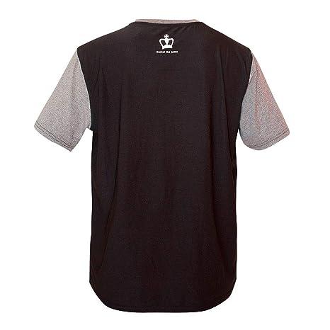 Black Crown Camiseta Gel Gris Negro: Amazon.es: Deportes y aire libre