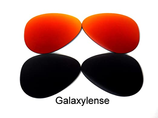 efc524b594e15 Amazon.com  Replacement Lenses For Ray-Ban RB3025 Aviators Black Red ...