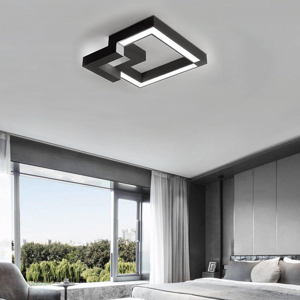 ZMH LED Deckenleuchte Dimmbar Fernbedienung, Farbewechsel stufenlos ...