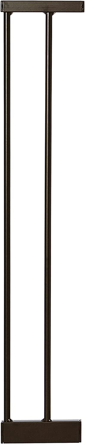 """MYPET North States Extensions for Petgate Passage: Add extensions for a gate up to 49.1"""" wide (6"""" or 12"""" Extension Available, Matte Bronze)"""