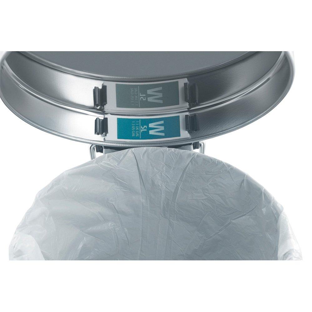 Blanco Brabantia C/ódigo V Bolsas de Basura Formato expendedor 3 L 60 Unidades