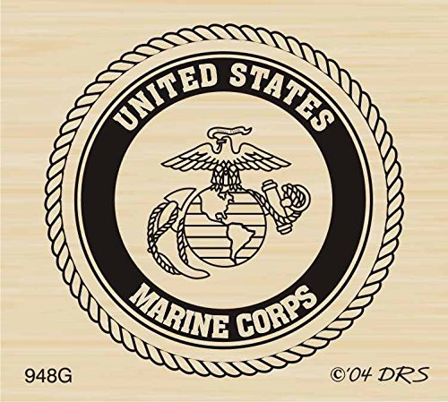 - Marine Seal Rubber Stamp By DRS Designs