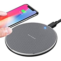 TIANYI Wireless charger,10W phone Wireless Charging Pad 2021 Upgraded version ,Compatible with iphone 11/11 Pro/11 Pro…