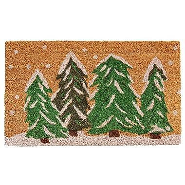 Home & More 122251729 Winter Wonderland Doormat, Multicolor