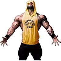 KODOO Camiseta de Tirantes con Capucha Beast