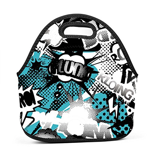 Lunch Bag Funny Kloing Lunch Bag Insulated Lunch Box Waterpr