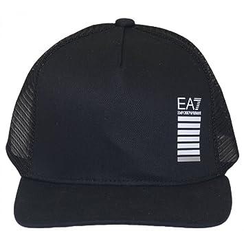 EA Bonnet EA7 Emporio Armani 7 275597 Mixte Homme Femme Bonnet Retina Noir 4561feec864