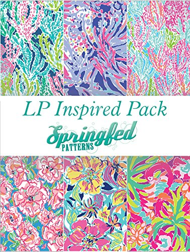LP Inspired Craft Vinyl Pattern Pack #1 Six Patterns 12x12! by Springfed Patterns