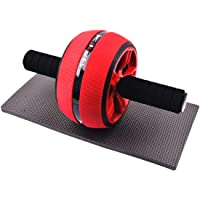 Ab Roller wheel with Anti-Slip Handles set for men and women,Home Gym Abdominal Exercise and fitness wheel Equipment for Core Workout training by YALLA START