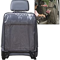 Car Seat Back Cover, Protector, Kick Mat for Kids, Universal Fit, Clear Transparent.