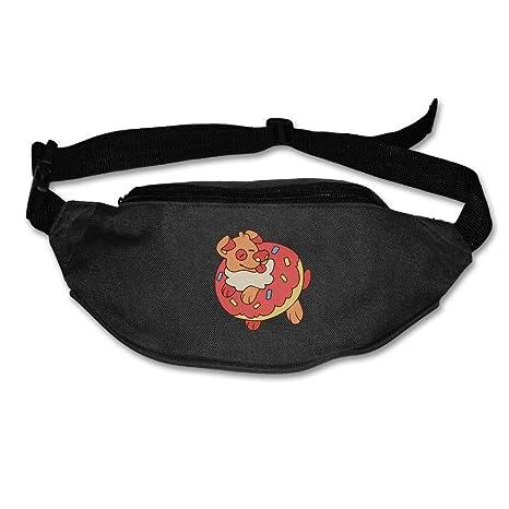 Waist Purse Cute Dog Unisex Outdoor Sports Pouch Fitness Runners Waist Bags