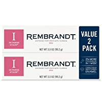 2-Pack Rembrandt Intense Stain Whitening Toothpaste 3.5oz