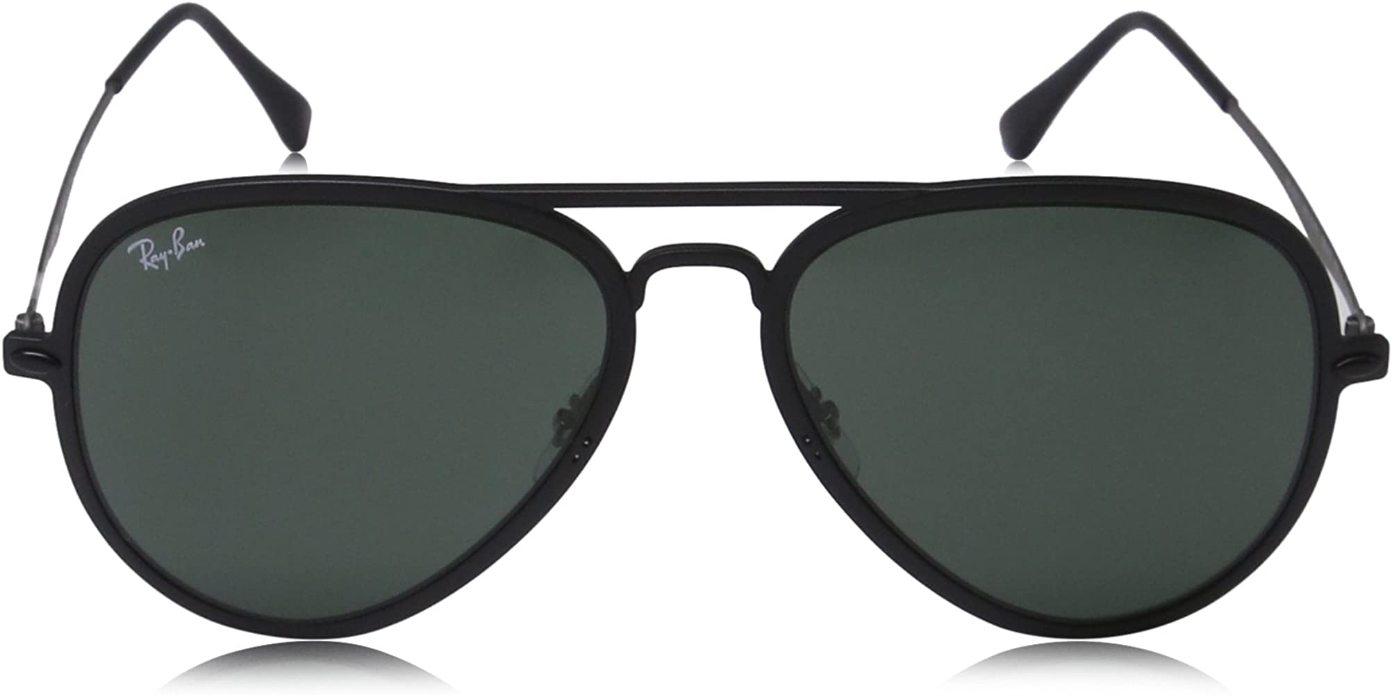 Ray-Ban Gafas de sol Aviator MATTE BLACK, 56: Amazon.es ...