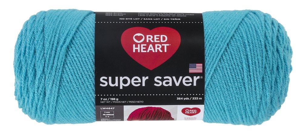 Red Heart E300.0319 Super Saver Yarn Cherry Red