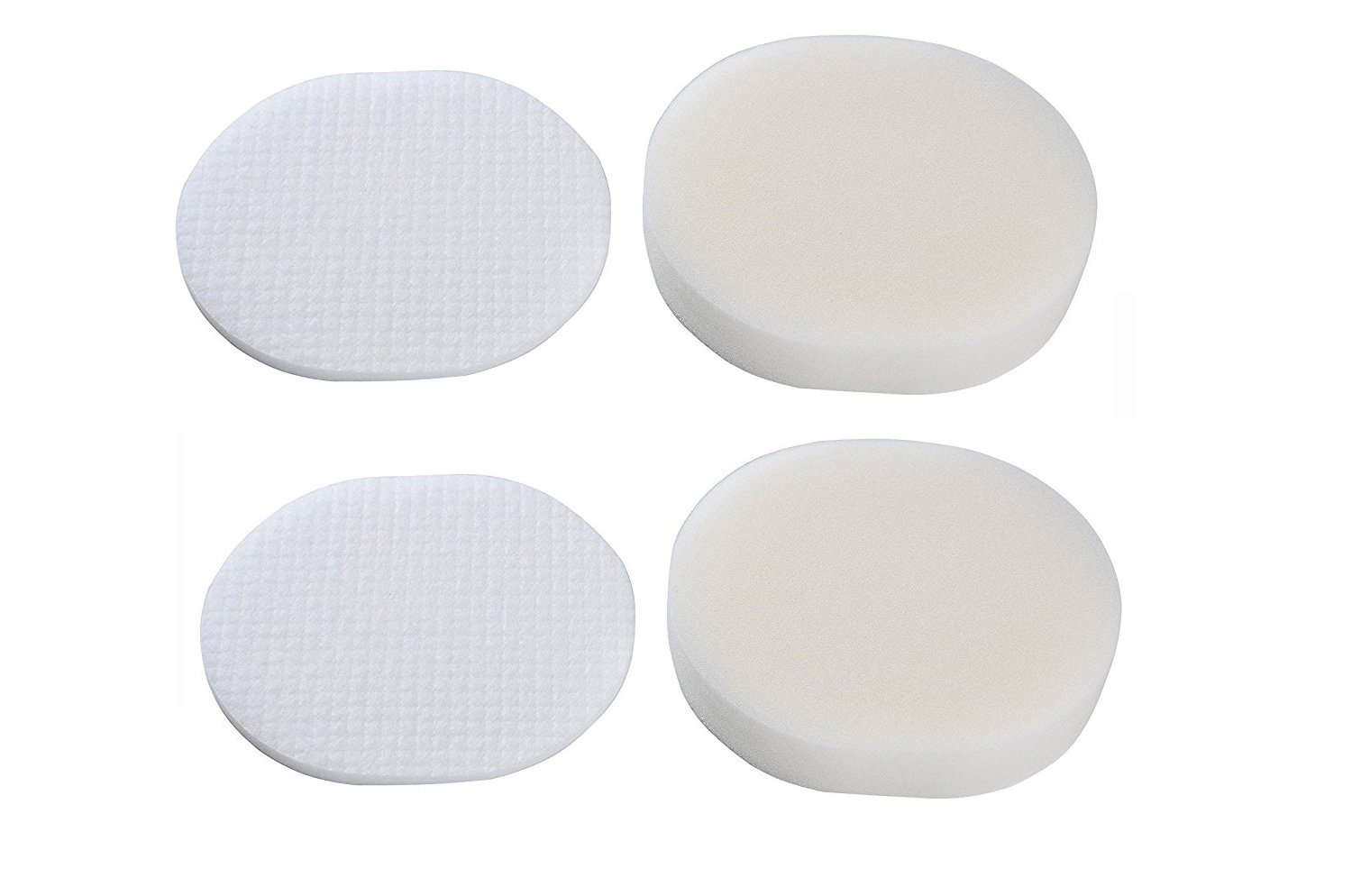 Green Label 2 Pack Foam and Felt Filter Kit for Shark Navigator Professional Vacuum Cleaners (compares to Shark XFF80). Fits: Shark NV70, NV80, NV90, UV420