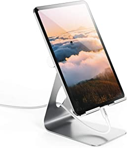 Adjustable Tablet Stand, Yoobao Tablet Stand Desktop Stand Holder Dock Compatible with 7.9 to 11 inch iPad Pro Air Mini 4 3 2, Kindle, Nexus, Tab, E-Reader (4-11