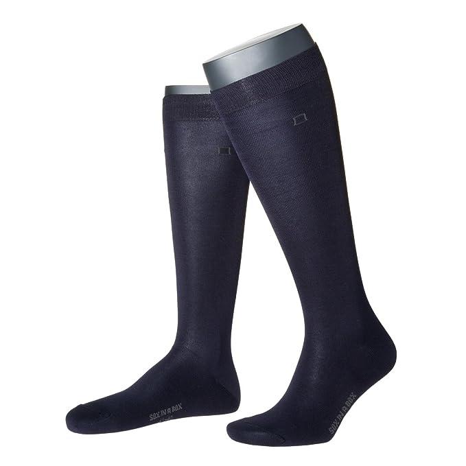Caja de SOX, Classic calcetines hasta la rodilla, unisex. Fabricado en Alemania.