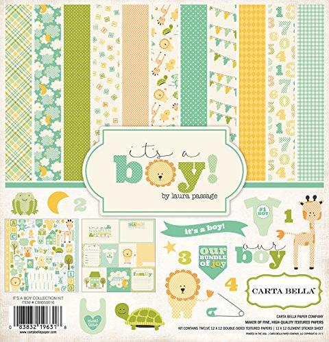 Carta Bella Paper Company It s a Boy Col