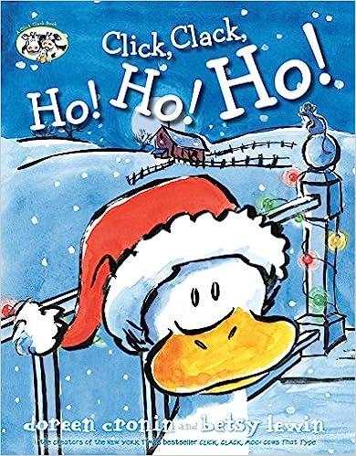Click, Clack, Ho! Ho! Ho! Book Cover