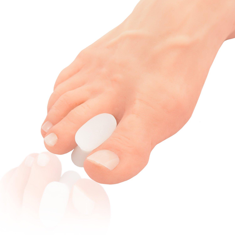 Dr. Frederick's Original Gel Toe Separators - Bunion Pain Relief for Men & Women - 6 Pieces - Small