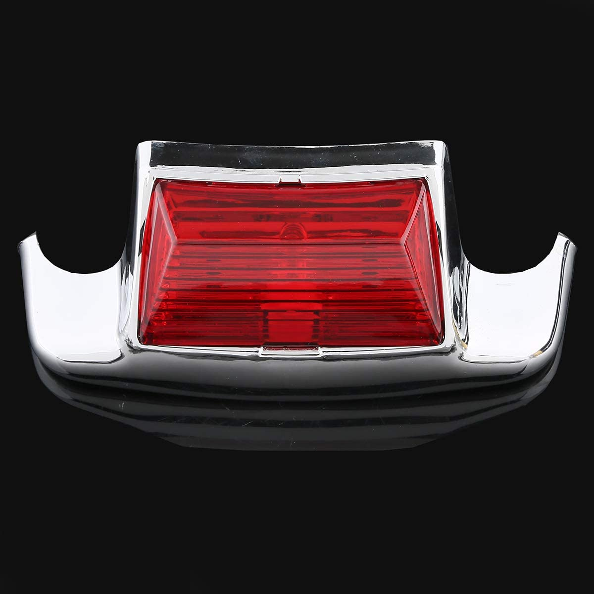 XFMT Red Lens Rear Fender Tip LED Light For Harley Electra Glide 1980-2013 Heritage Softail Classic FLSTC 1986-2008