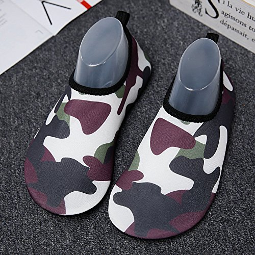 For Yoga Barefoot Women's Surf Men's Shoes Sports Exercise Camouflage Ensasa Dry Water Swim Summer Outdoor Aqua Quick Socks 7ZA60wq