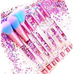 Unicorn Fan Makeup Brush Set