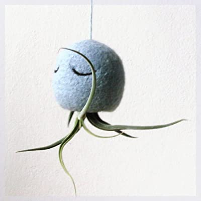 Air plant holder - Octopus air plant hanger - Choose your color!