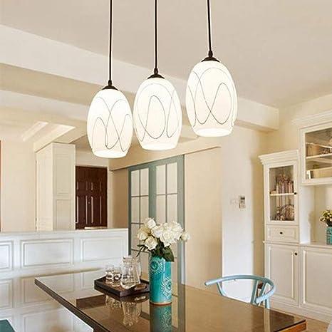 Luces colgantes modernas de luces de techo, lámpara colgante ...
