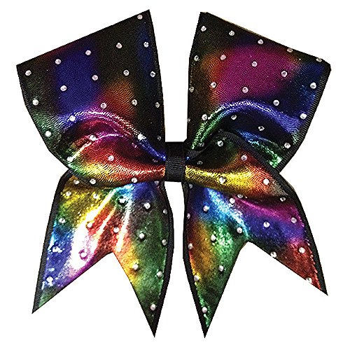 Chosen Bows Idol Shimmer Tie Dye Cheer Bow