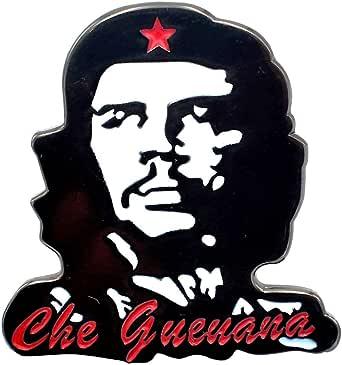 LilieCrea - Pin esmaltado con diseño de Che Guevara, revolución, pin Che, Ernesto, Cuba, Broche Che